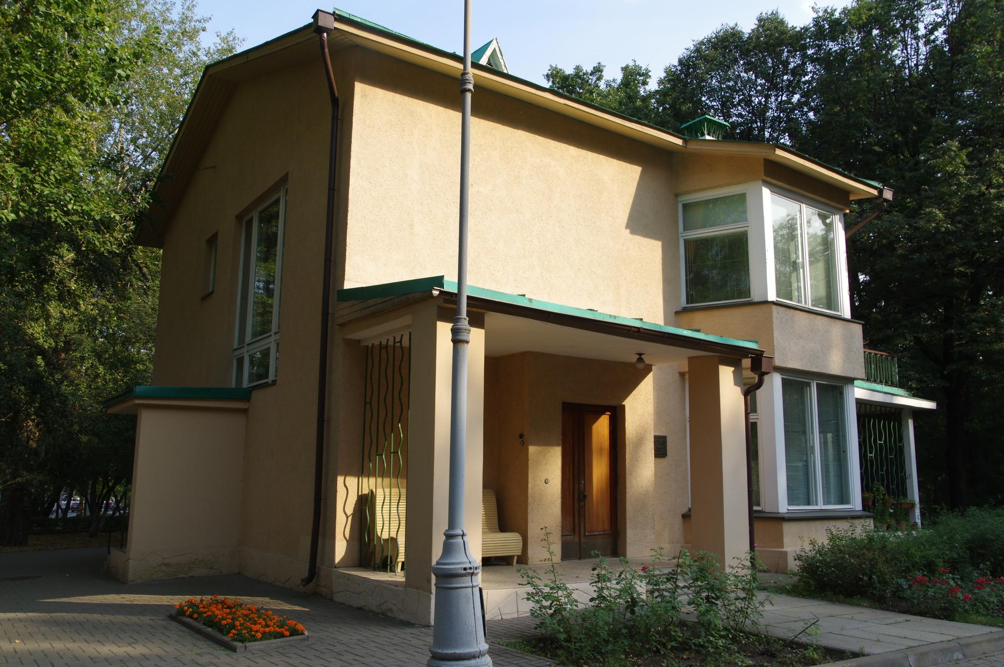 Мемориальный дом-музей академика С.П. Королева (1-я Останкинская улица, дом 28)