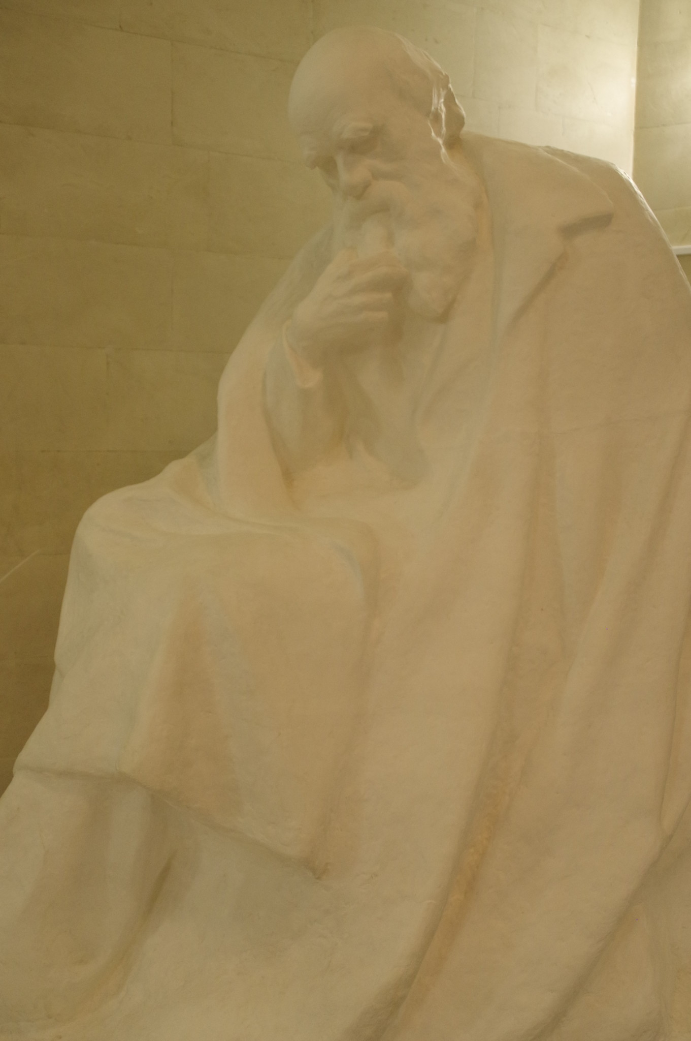 Скульптура Ч. Дарвина в Государственном Дарвиновском музее