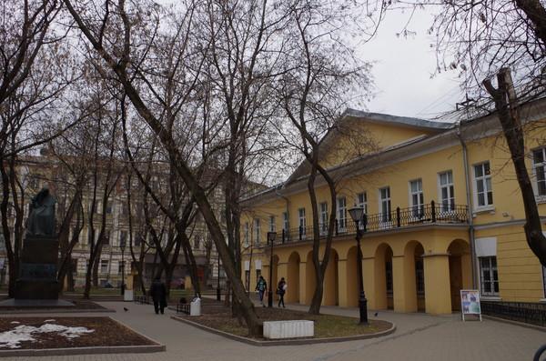 «Дом Н.В. Гоголя — мемориальный музей и научная библиотека» (Никитский бульвар, дом 7А)