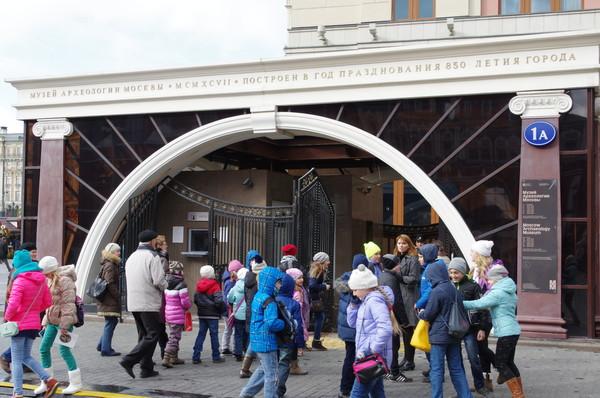 Музей археологии Москвы (Манежная площадь, 1А)