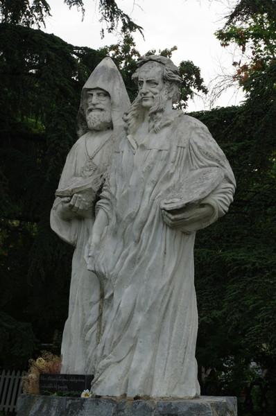 Памятник братьям Айвазян. Симферополь