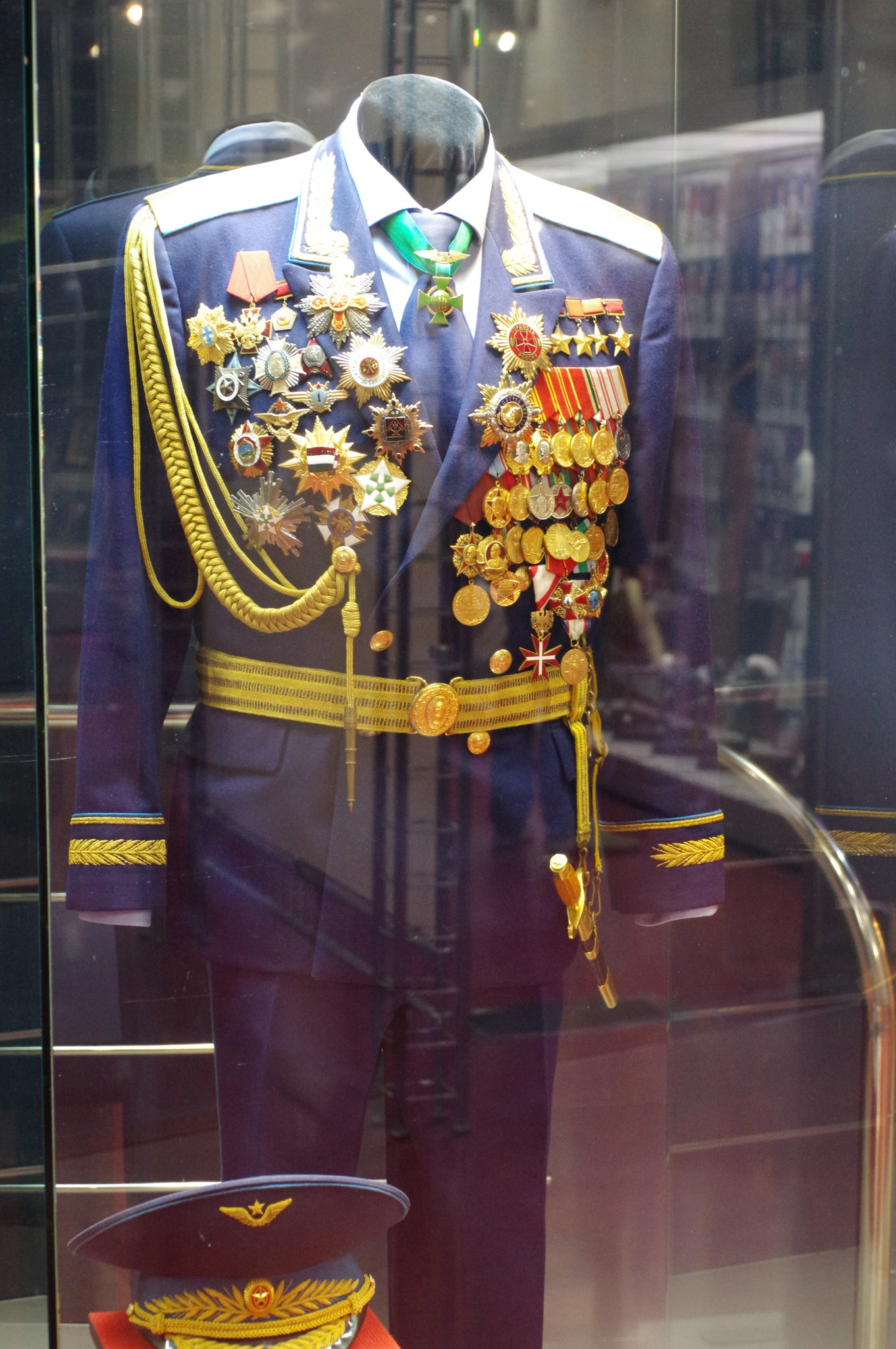 Мундир Алексея Архиповича Леонова в Музее Космонавтики