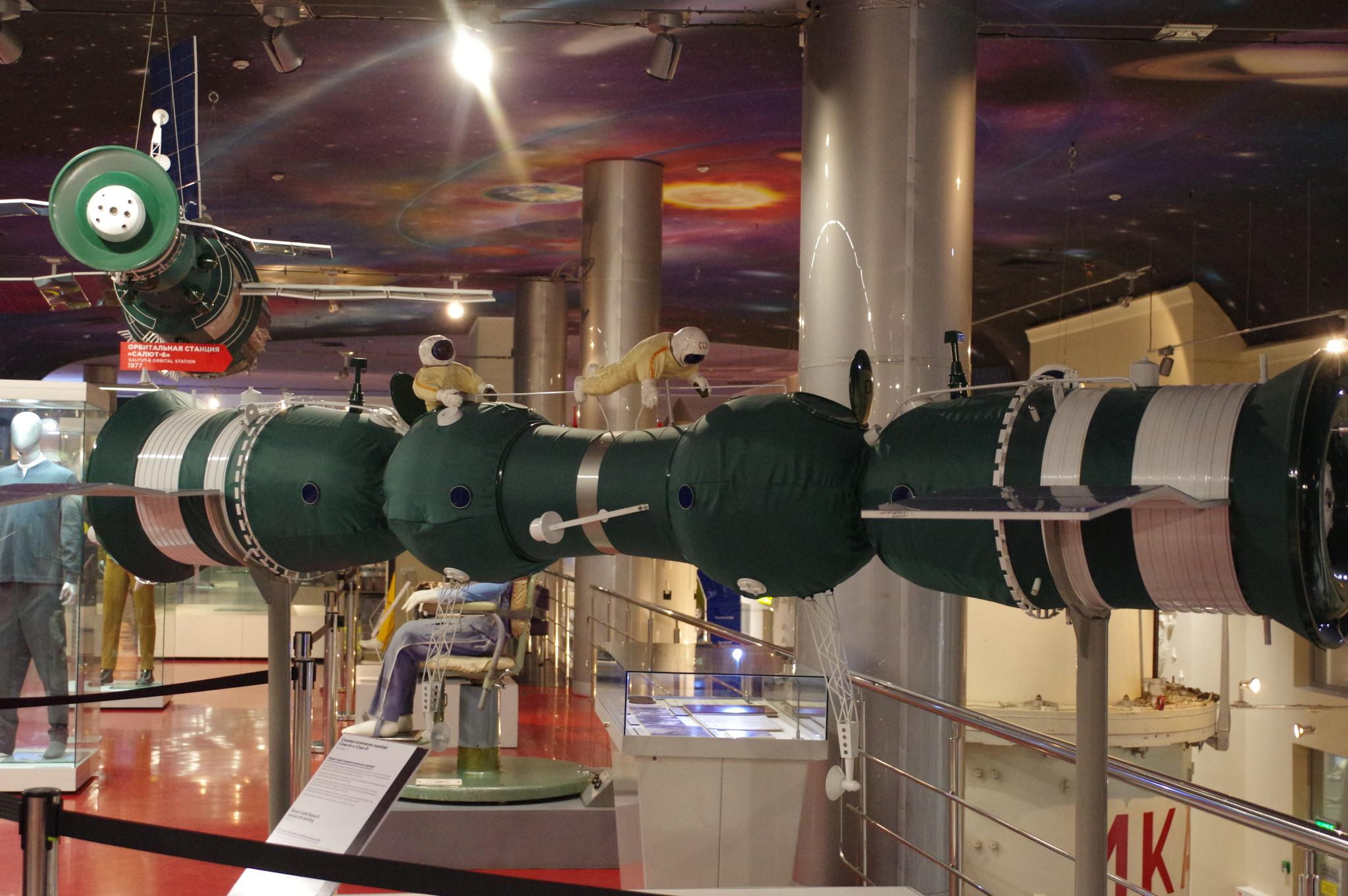 Музей космонавтики в Москве (проспект Мира, дом 111)