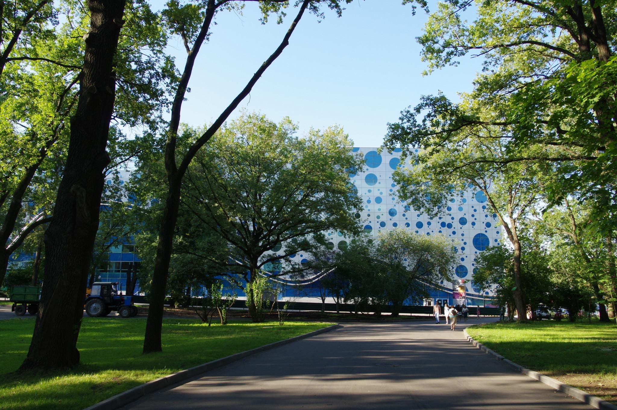 Центр Океанографии и Морской Биологии «Москвариум» на ВДНХ (Павильон № 23.