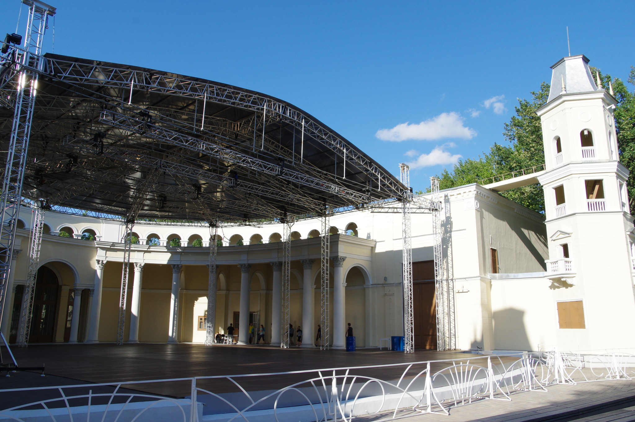 Зелёный театр ВДНХ