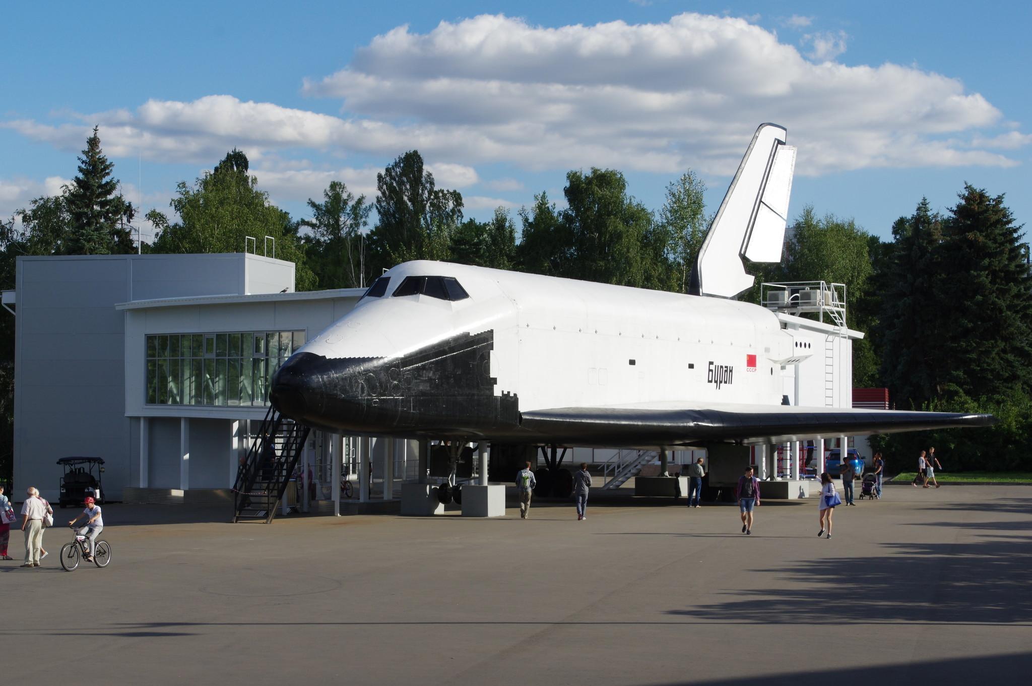 Интерактивный музей в макете космического корабля