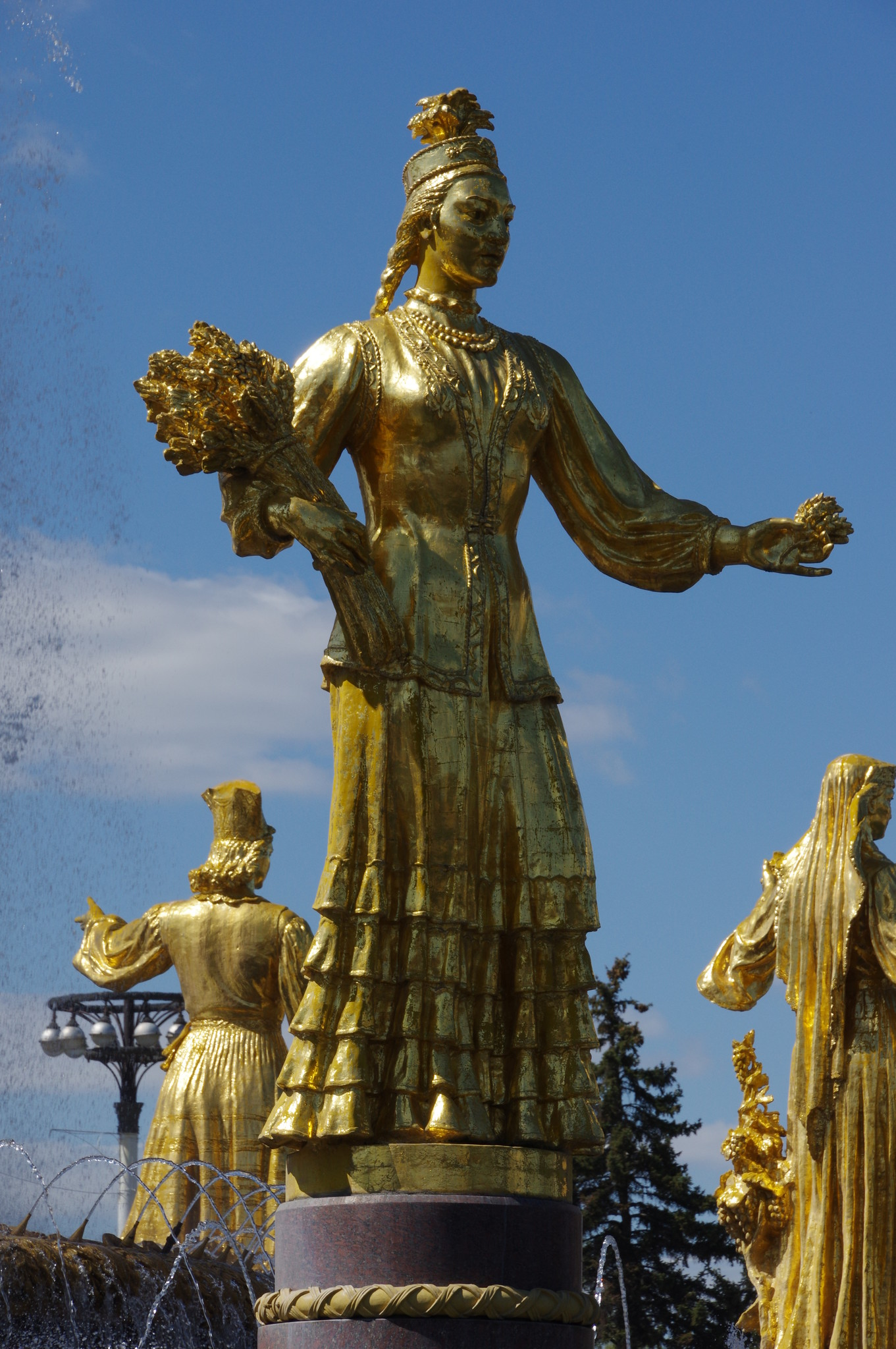 Фонтан «Дружба народов». Казахстан