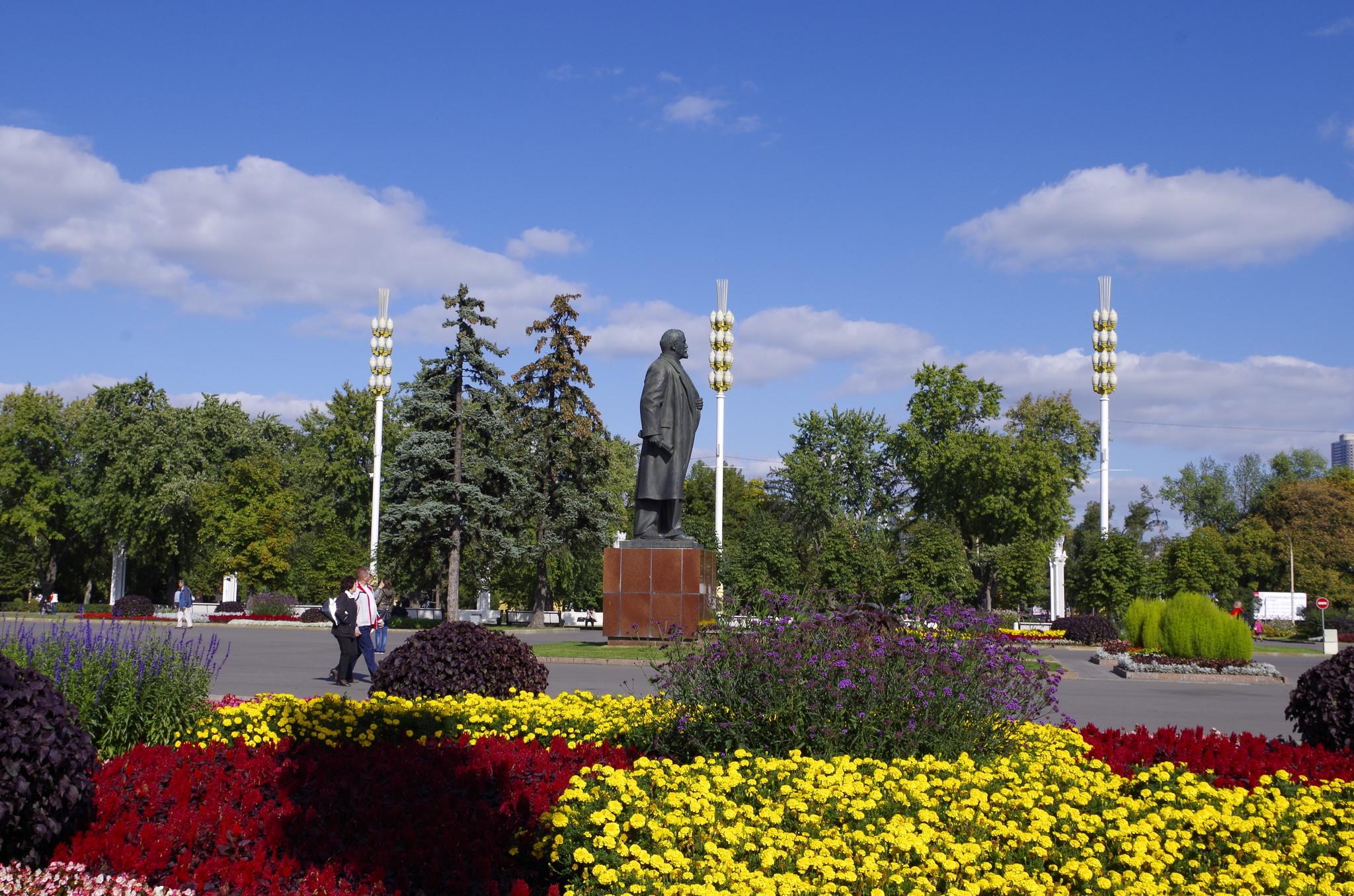 Памятник В.И. Ленину на ВДНХ