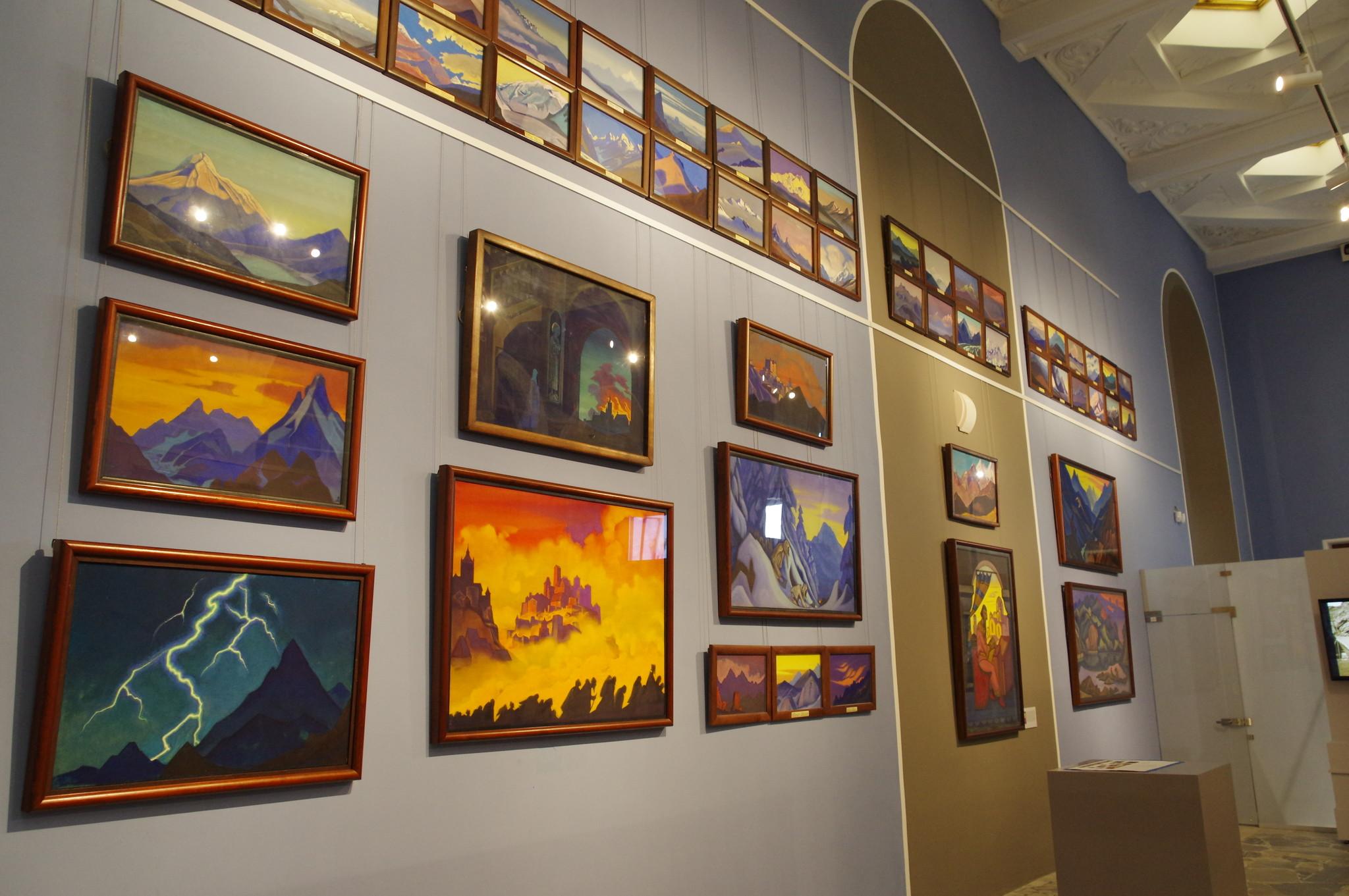 Постоянная экспозиция «Сохраняя культуру. Музей Рерихов» в павильоне № 13 на ВДНХ