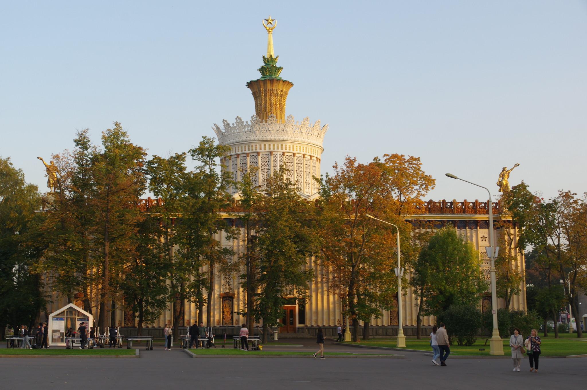 Павильон № 58 «Земледелие». Внутри павильона расположен Центр славянской письменности «Слово»
