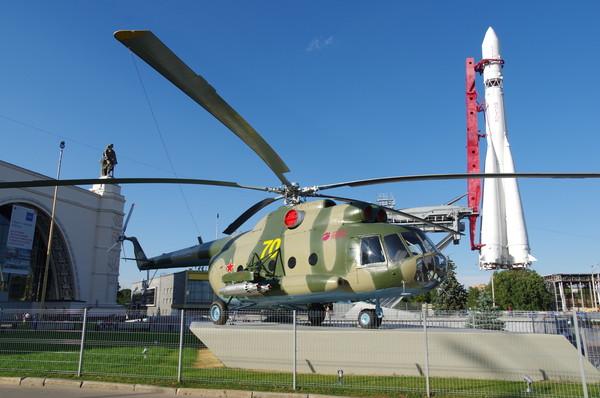 Военно-транспортный вертолёт Ми-8