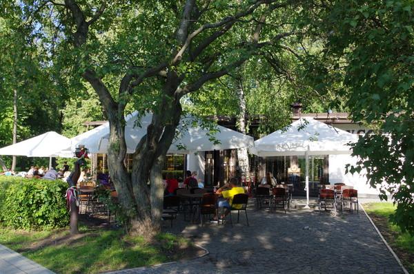 Летнее кафе в парке Останкино