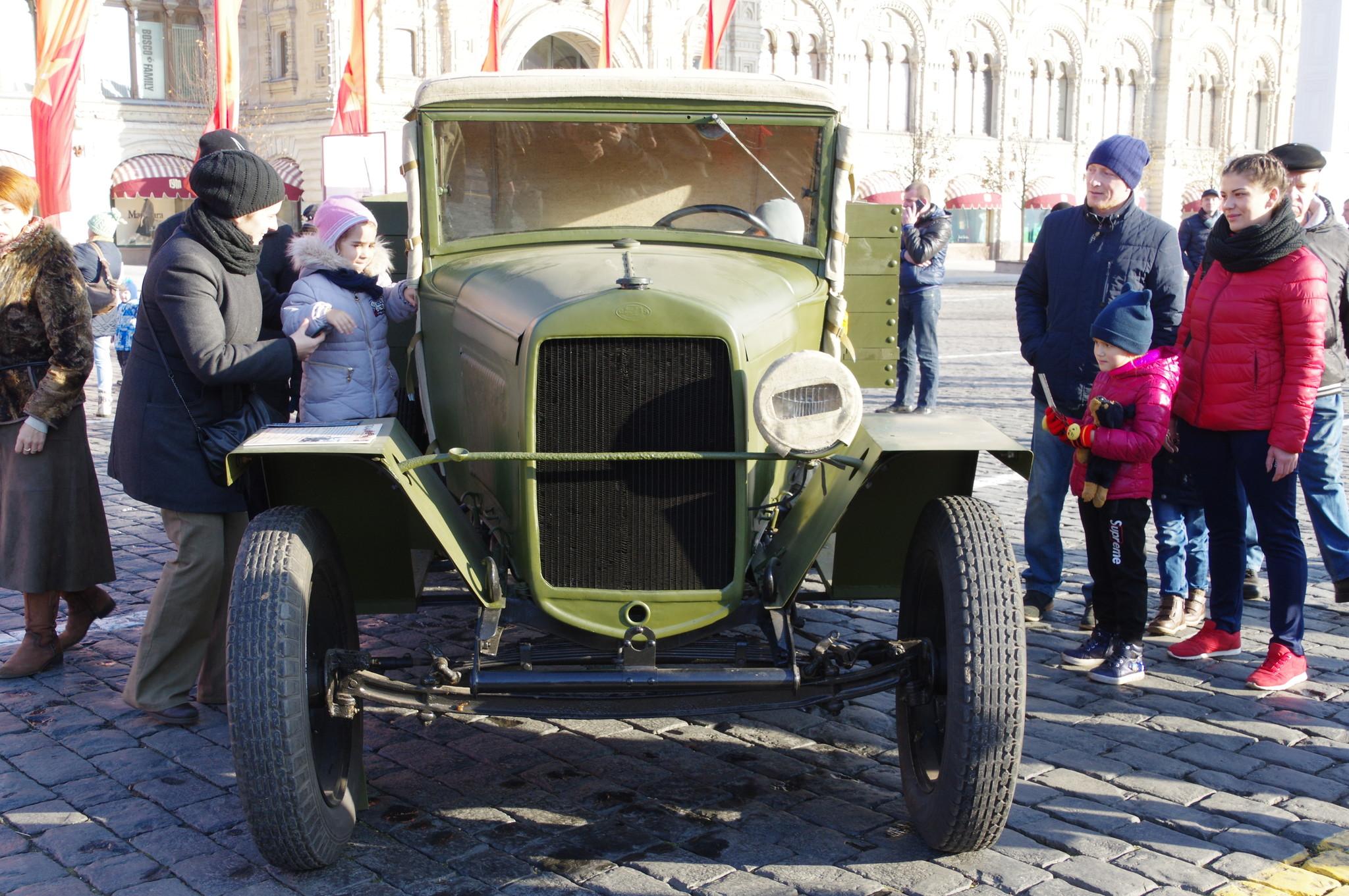 Грузовой автомобиль ГАЗ-АА (полуторка)