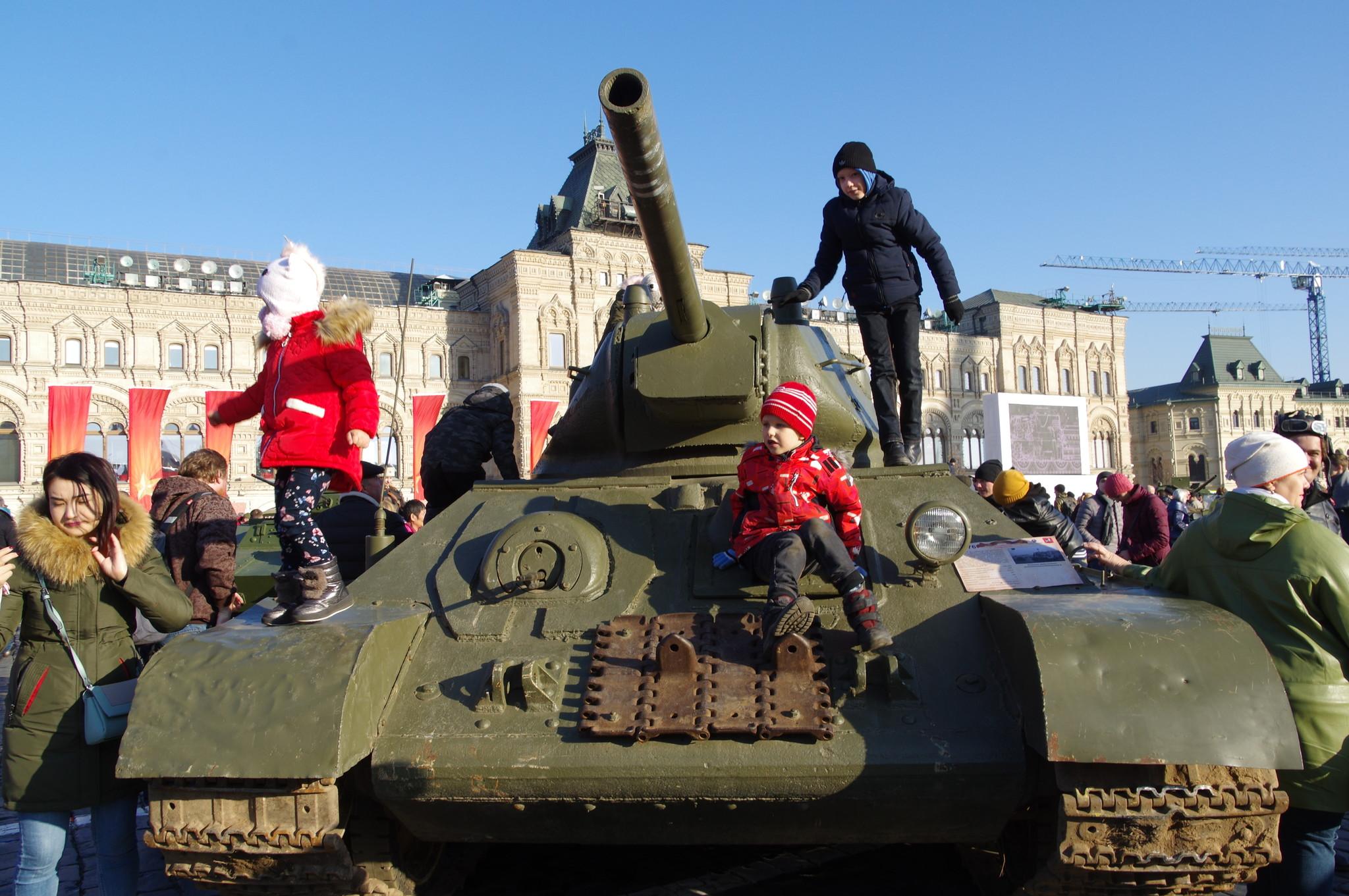 На Красной площади 7 ноября