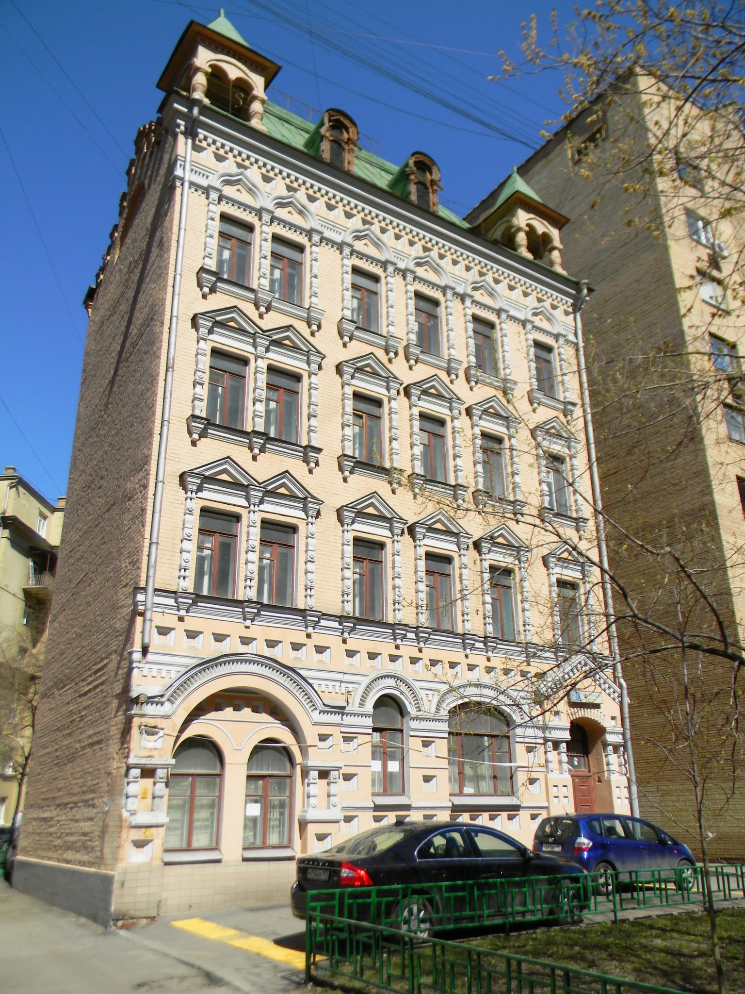 Доходный дом купца Николая Титова (Ружейный переулок, дом 2а)