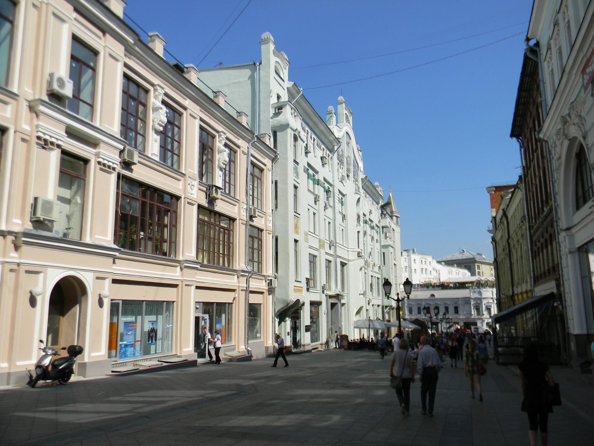 Улица Кузнецкий Мост, дом 3 (строение 1 и 2)