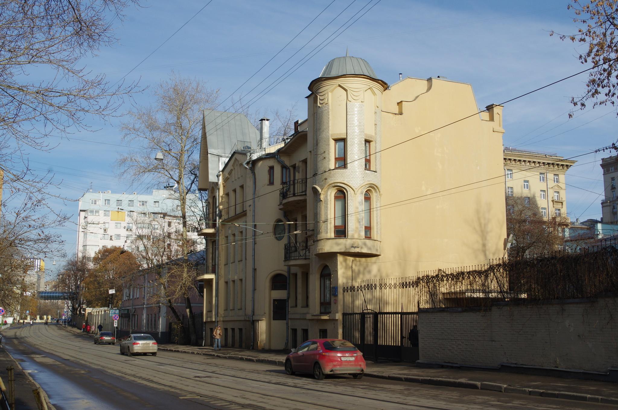 Доходный дом Е.Д. Ломакиной (улица Гиляровского, дом 20)