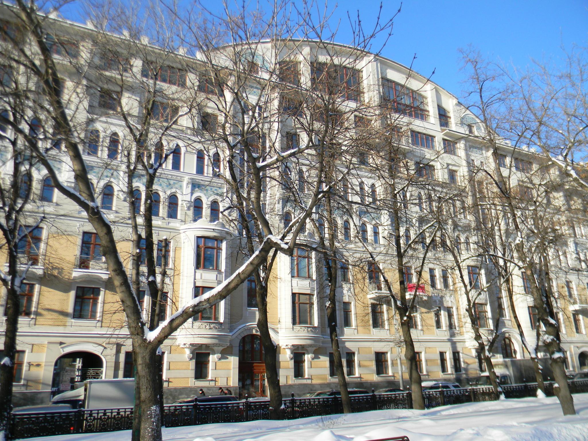 Дом Иерусалимского Патриаршего подворья (Гоголевский бульвар, дом 29)