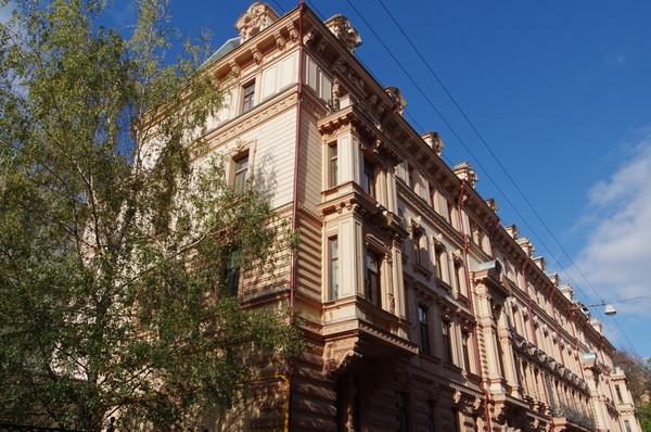 Пятый дом Советов (Доходный дом А.Д. Шереметева). Романов переулок, дом 3
