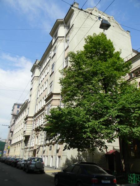 Дом во 2-м Обыденском переулке, где Анатолий Степанович Иванов проживал с 1969 по 1999 год