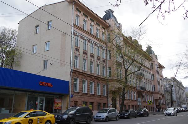 Доходный дом М.А. Мальцева (Новая Басманная улица, дом 28)