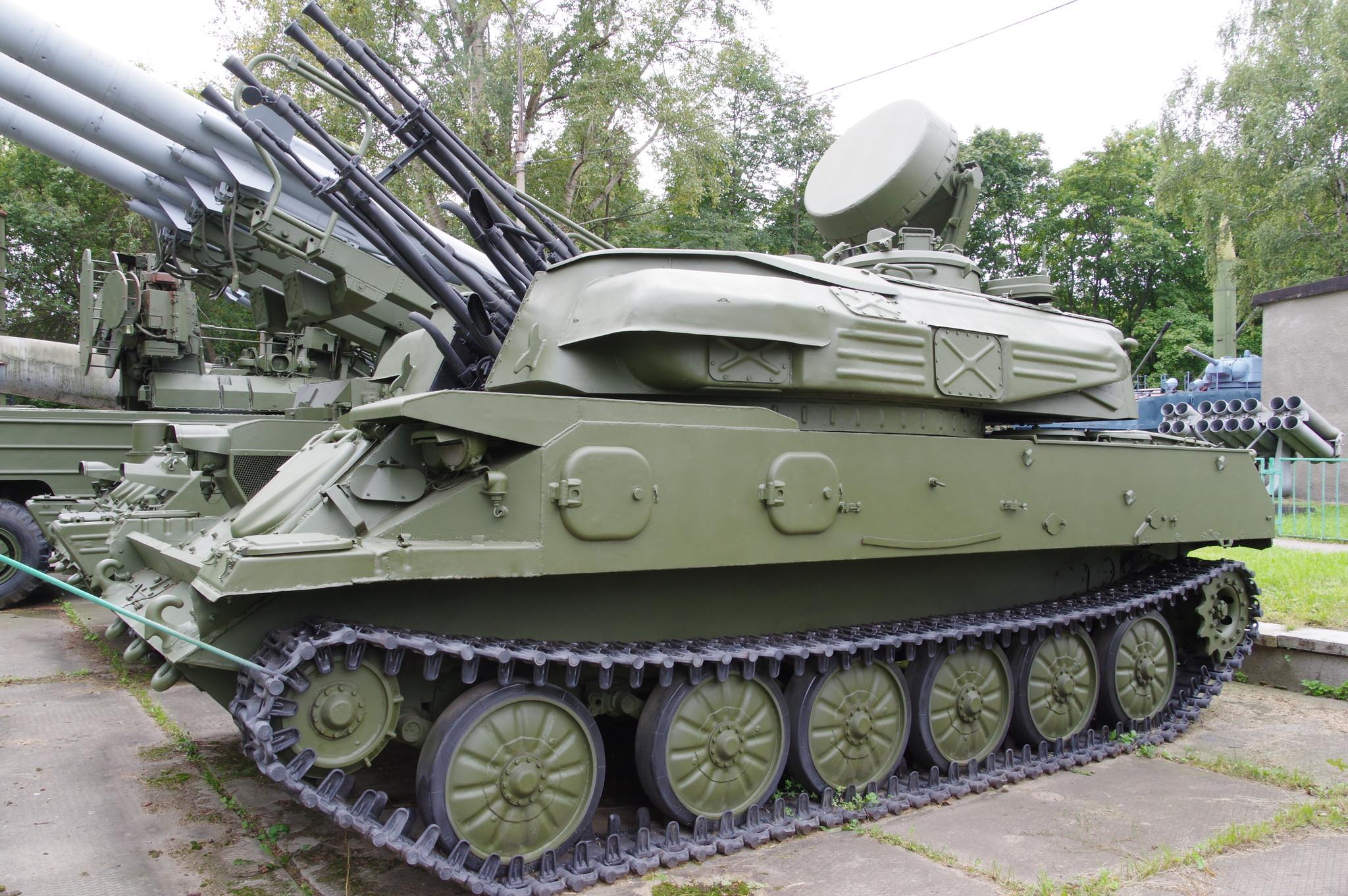 Самоходная зенитная установка ЗСУ-23-4 «Шилка»