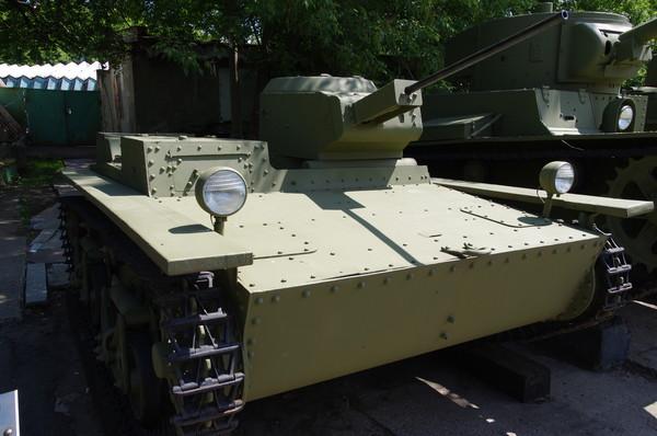 Малый плавающий танк Т-38 1936 г. Центральный музей Вооруженных сил Российской Федерации