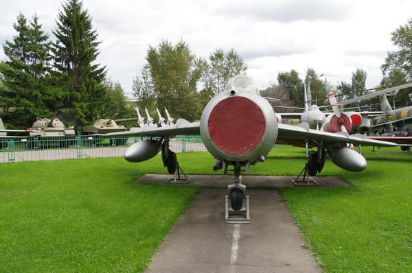 Истребитель МиГ-17 в Центральном музее Вооружённых сил Российской Федерации