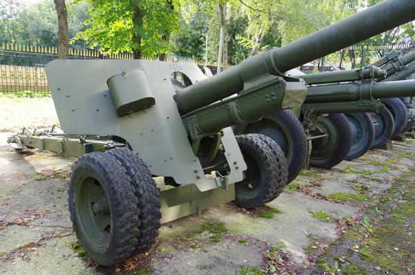 100-мм полевая пушка образца 1944 года (БС-3). (Центральный музей Вооружённых сил Российской Федерации)