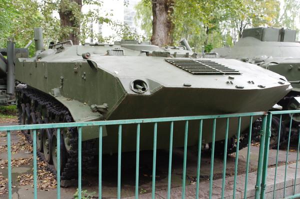 Гусеничный бронетранспортёр БТР-Д (Центральный музей Вооружённых сил Российской Федерации)