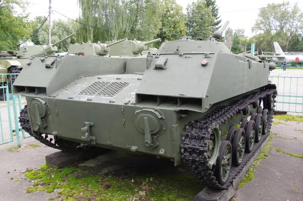 Боевая машина десанта БМД-1 в экспозиции Центрального музея Вооружённых сил Российской Федерации