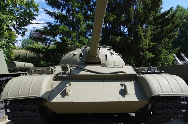 Средний танк Т-54. Центральный музей Вооружённых сил Российской Федерации (улица Советской Армии, 2)