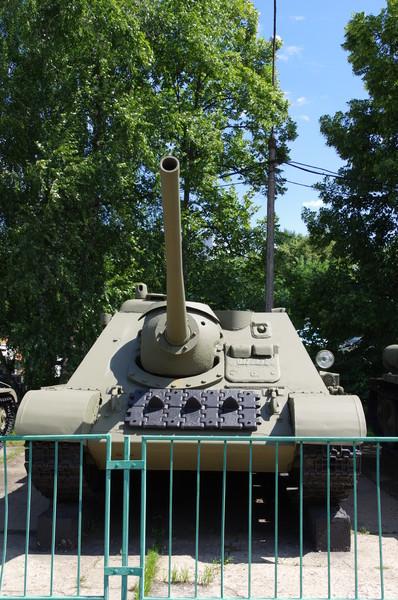 Самоходно-артиллерийская установка СУ-85 (Центральный музей Вооружённых сил Российской Федерации)