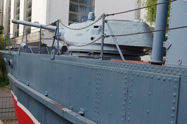 БК-433, бронекатер проекта 1124 в экспозиции Центрального музея Вооружённых сил Российской Федерации