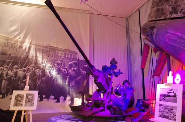 37-мм автоматическая зенитная пушка образца 1939 года (61-К) в экспозиции Центрального музея Вооружённых сил Российской Федерации