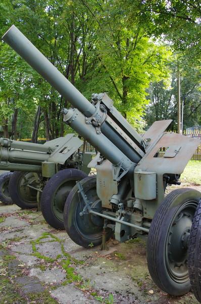 122-мм гаубица образца 1938 года (М-30) в Центральный музей Вооружённых сил Российской Федерации