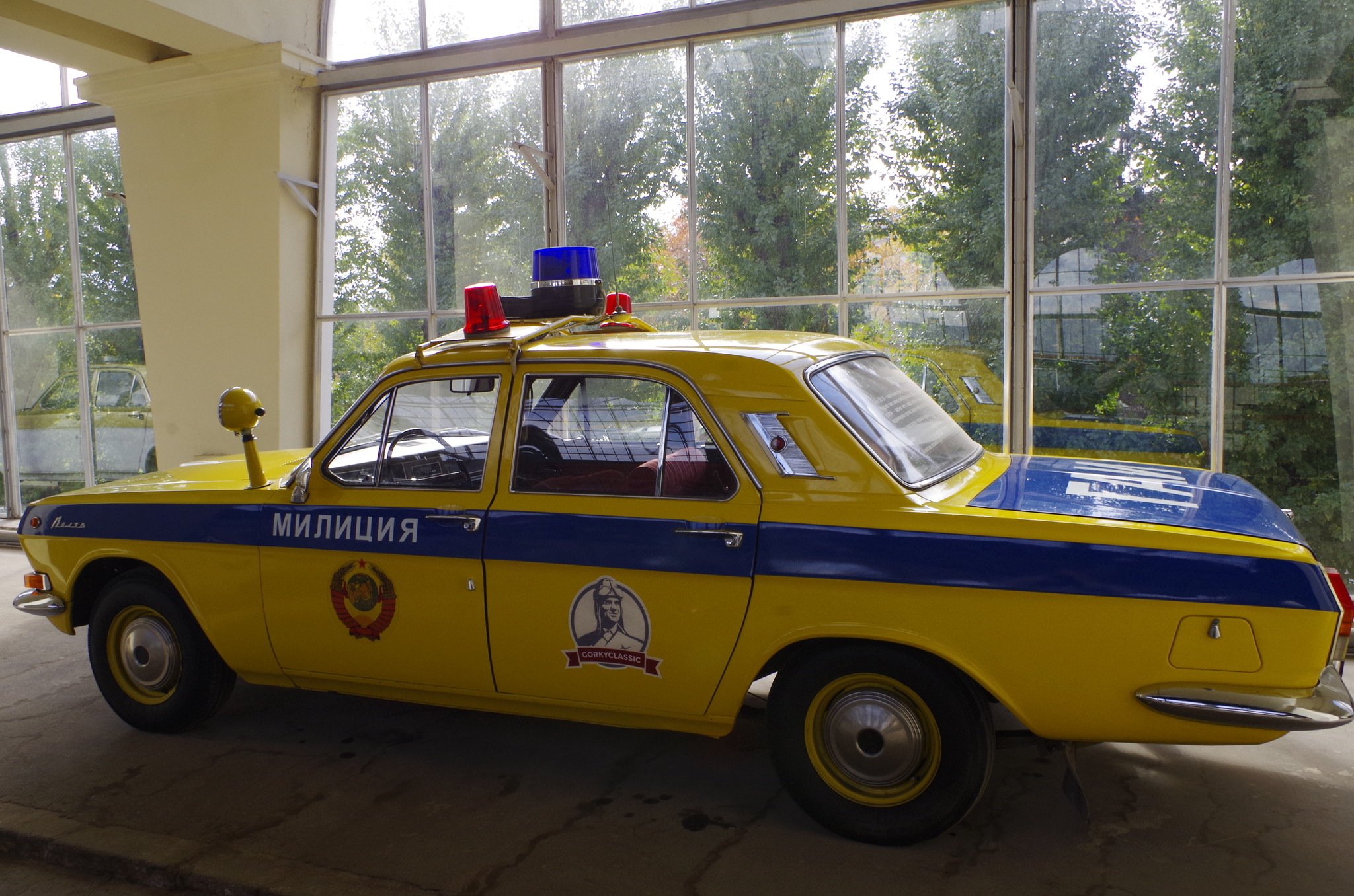 ГАЗ-24 «Волга». Патрульная модификация оборудованная для службы в Госавтоинспекции