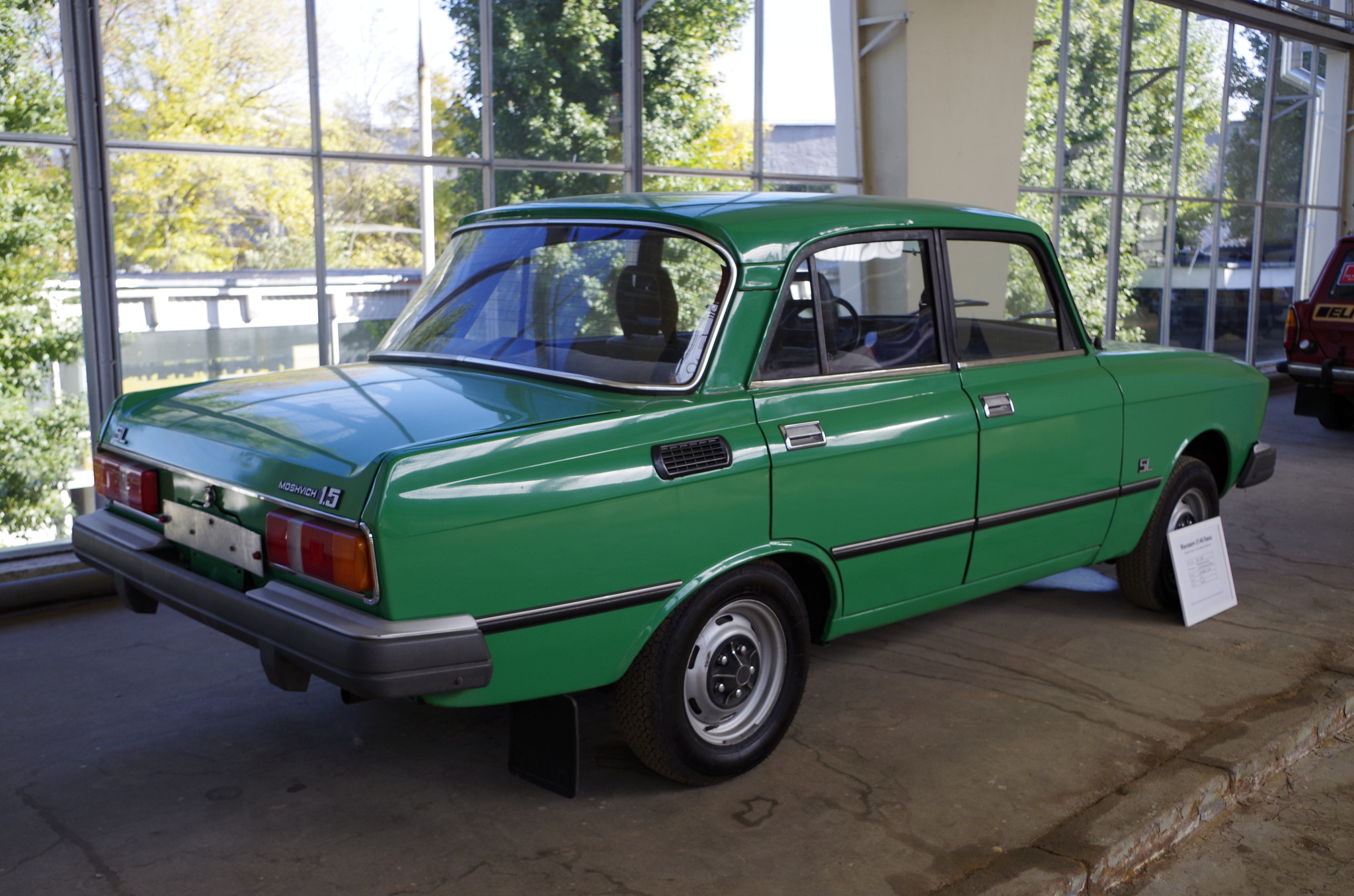 Автомобиль «Москвич-2140 Люкс»