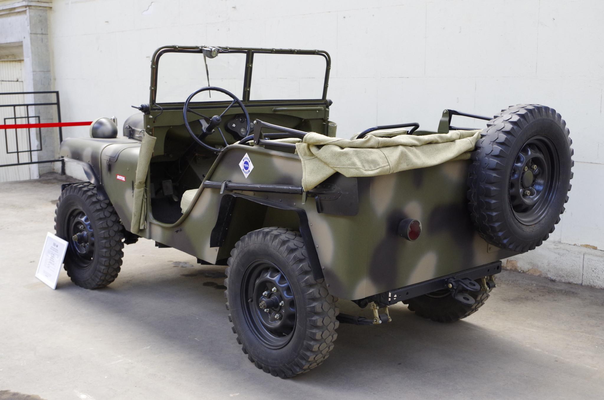 Полноприводный вездеход, лёгкий артиллерийский тягач ГАЗ-64