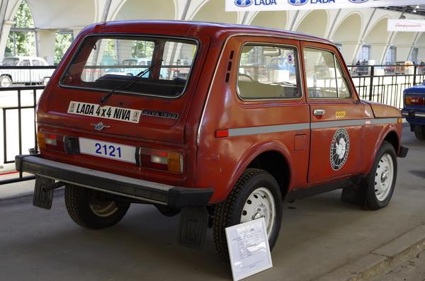 ВАЗ-2121 «Нива». Данный автомобиль в течение десяти лет работал в Антарктиде