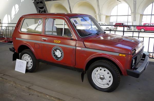 ВАЗ-2121 «Нива». Данный автомобиль в течение десяти лет работал в Антарктиде на российской станции