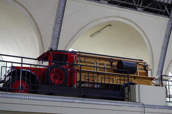 Пожарная «линейка» на базе 2,5-тонной модели АМО-4 выпускалась на Московском автомобильном заводе АМО с 1931 по 1933 год