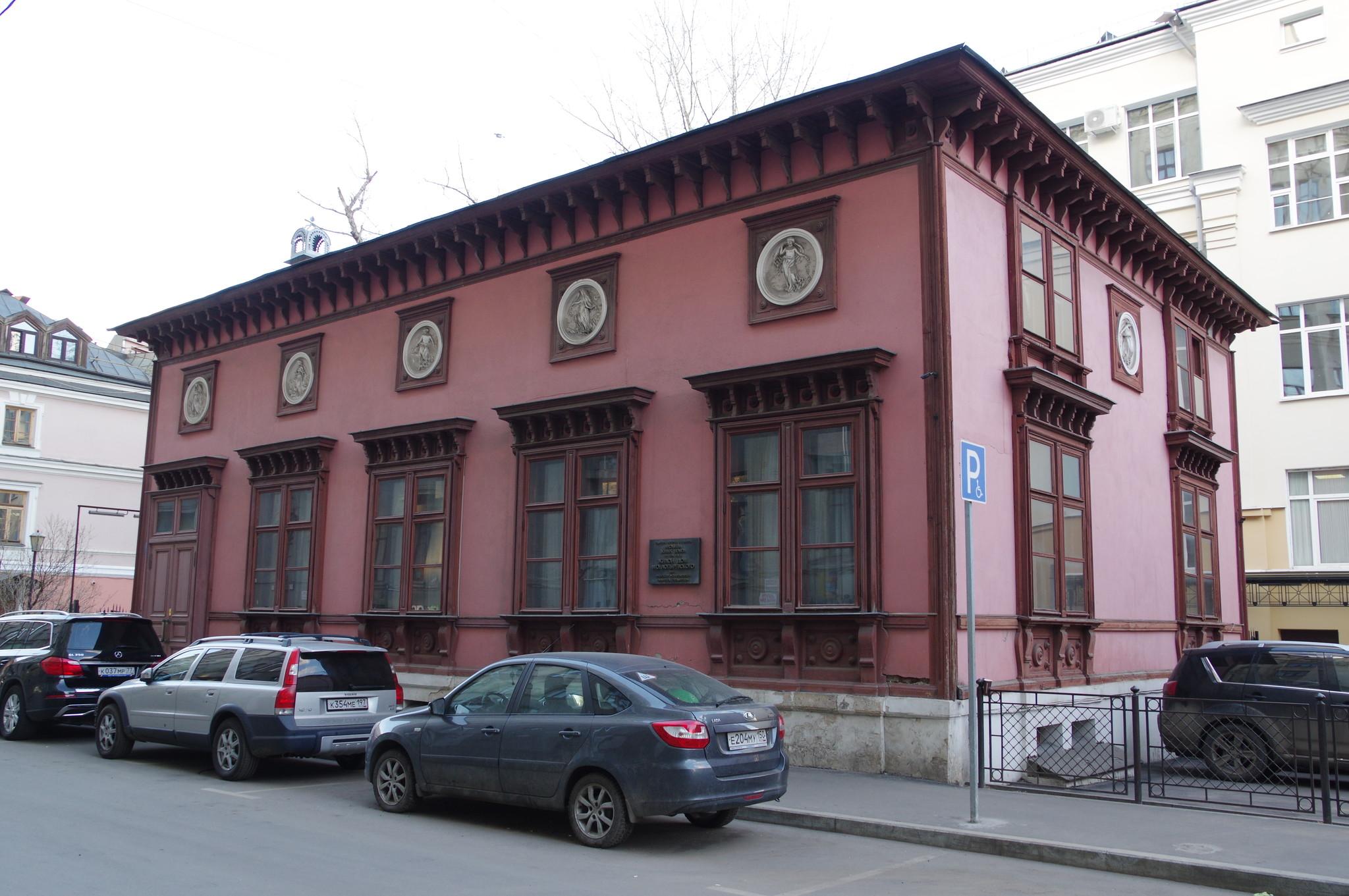 Особняк М.О. Лопыревского (Калошин переулок, дом 12, строение 1)