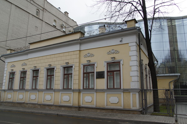 Дом декабриста Петра Николаевича Свистунова (Гагаринский переулок, дом 25)