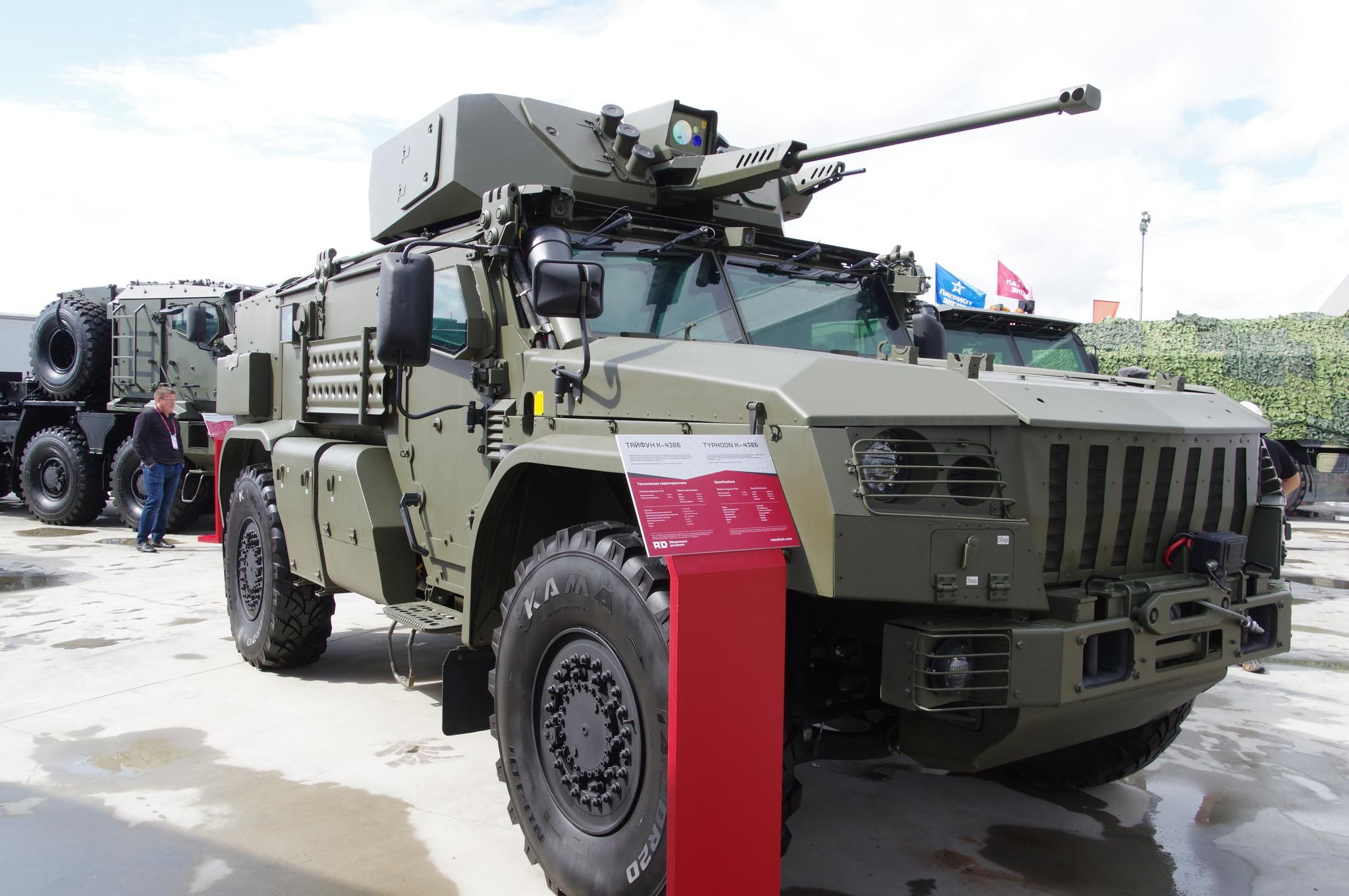 Бронеавтомобиль «Тайфун» К4386