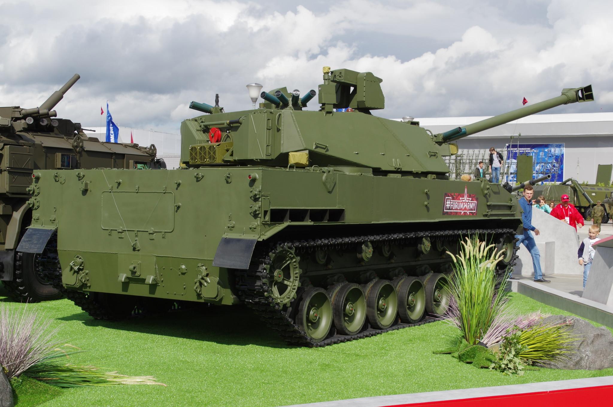 120-мм самоходное артиллерийское орудие 2С42 «Лотос»