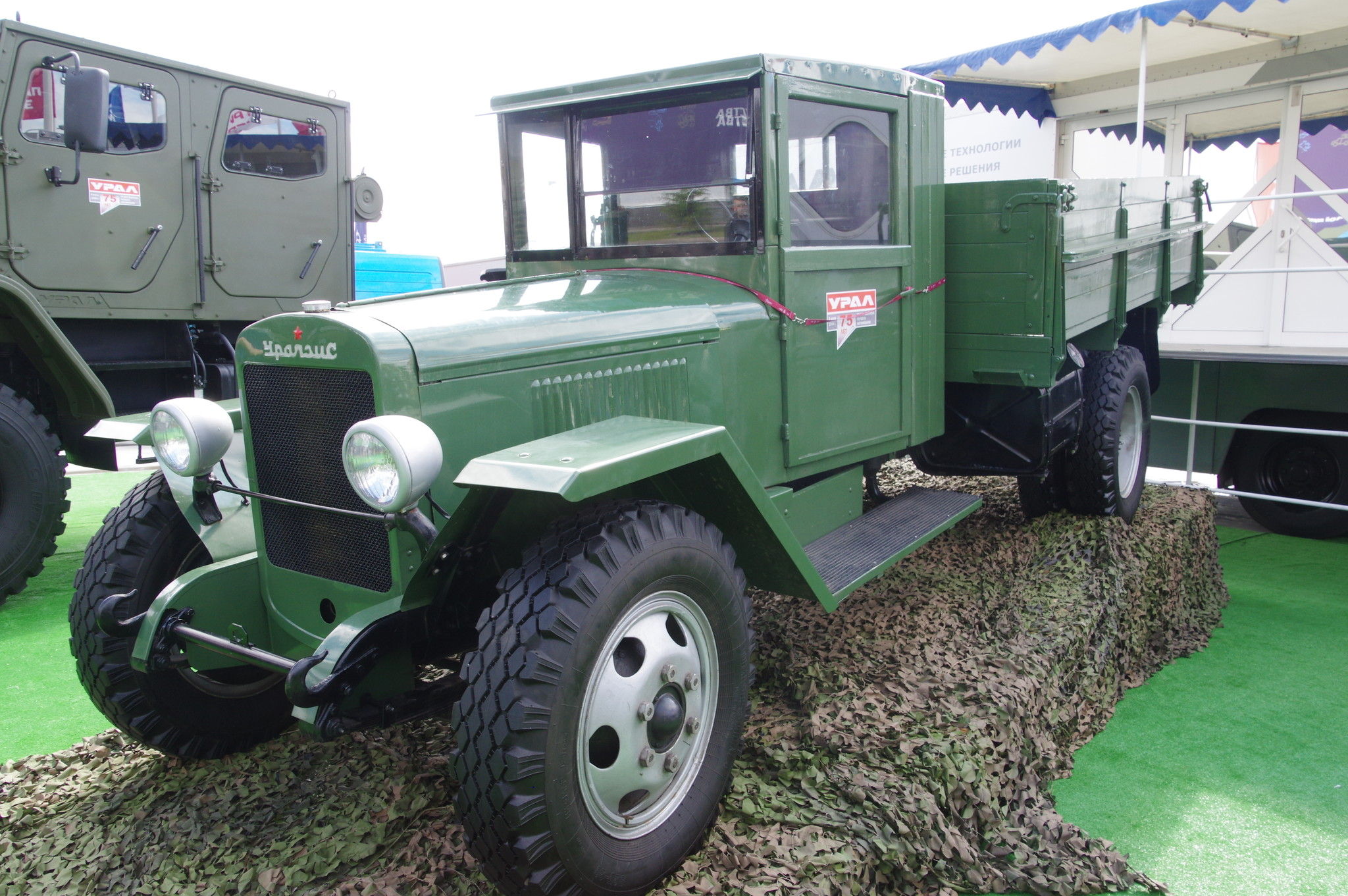 Грузовой автомобиль УралЗис-5 выпускался на заводе УралЗИС в 1944-1947 годах (8,5 тысяч в годы Великой Отечественной войны)