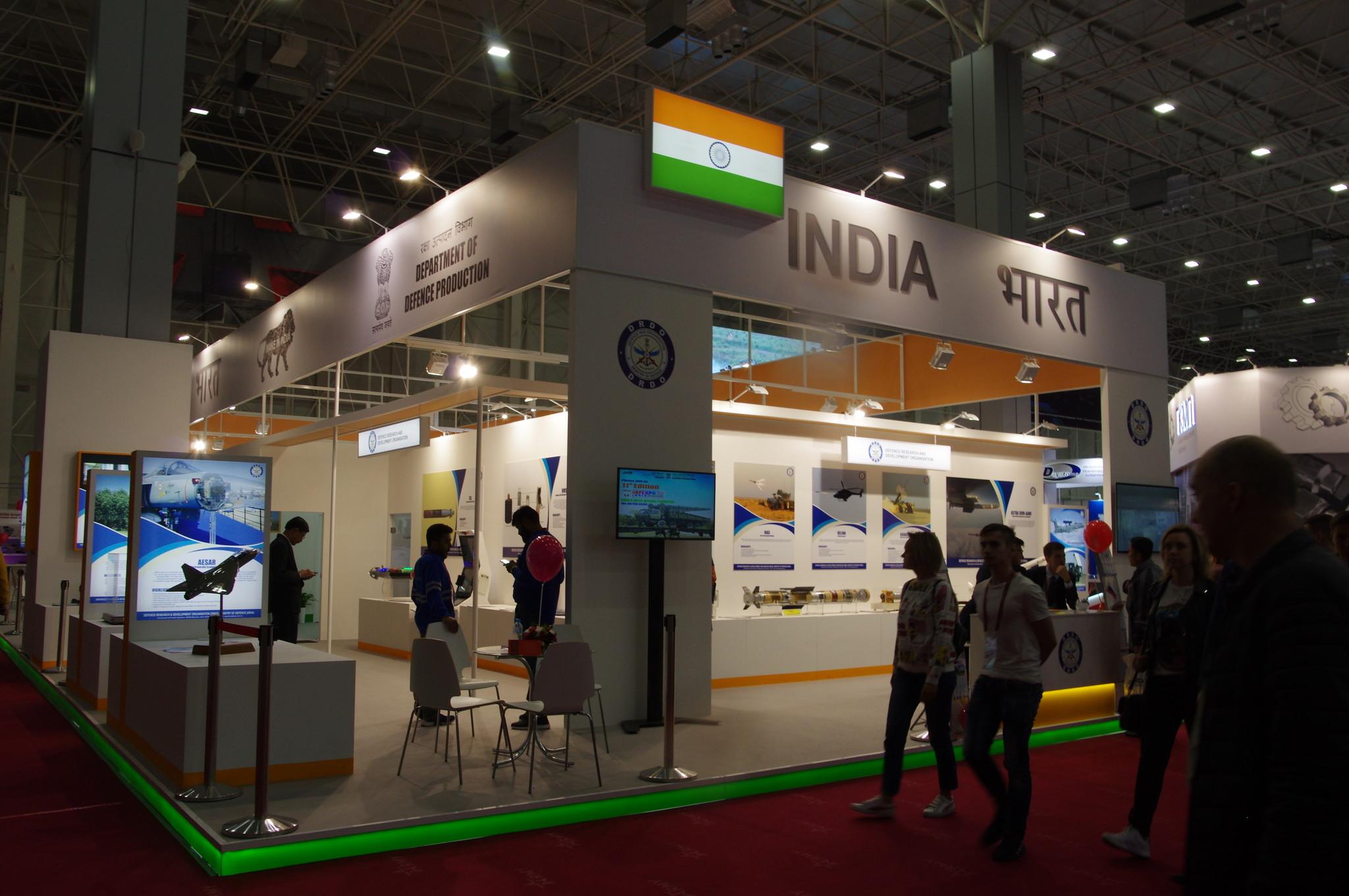 Стенд Индии в Конгрессно-выставочном центре «Патриот»
