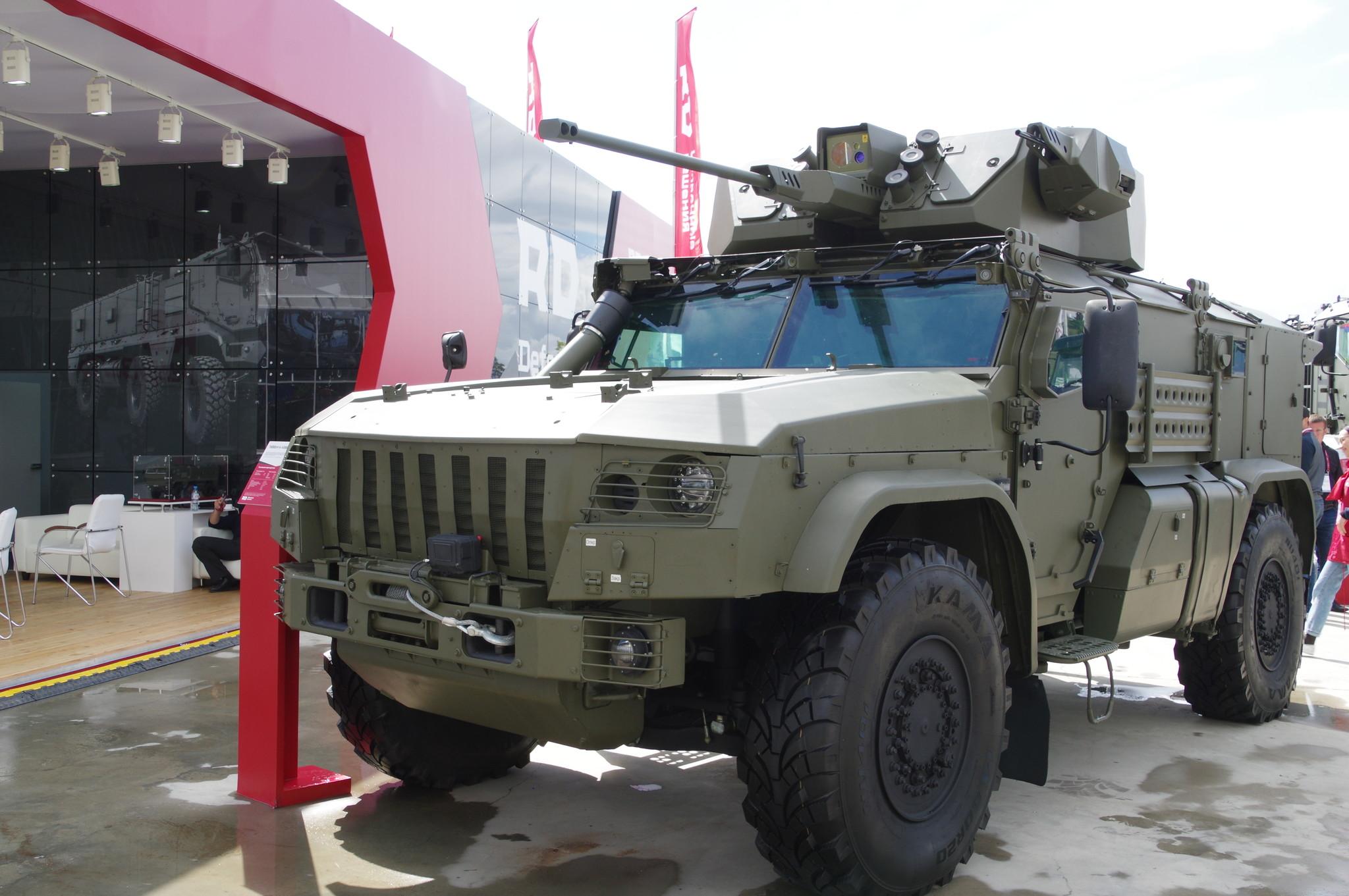 Бронеавтомобиль «Тайфун» К-4386