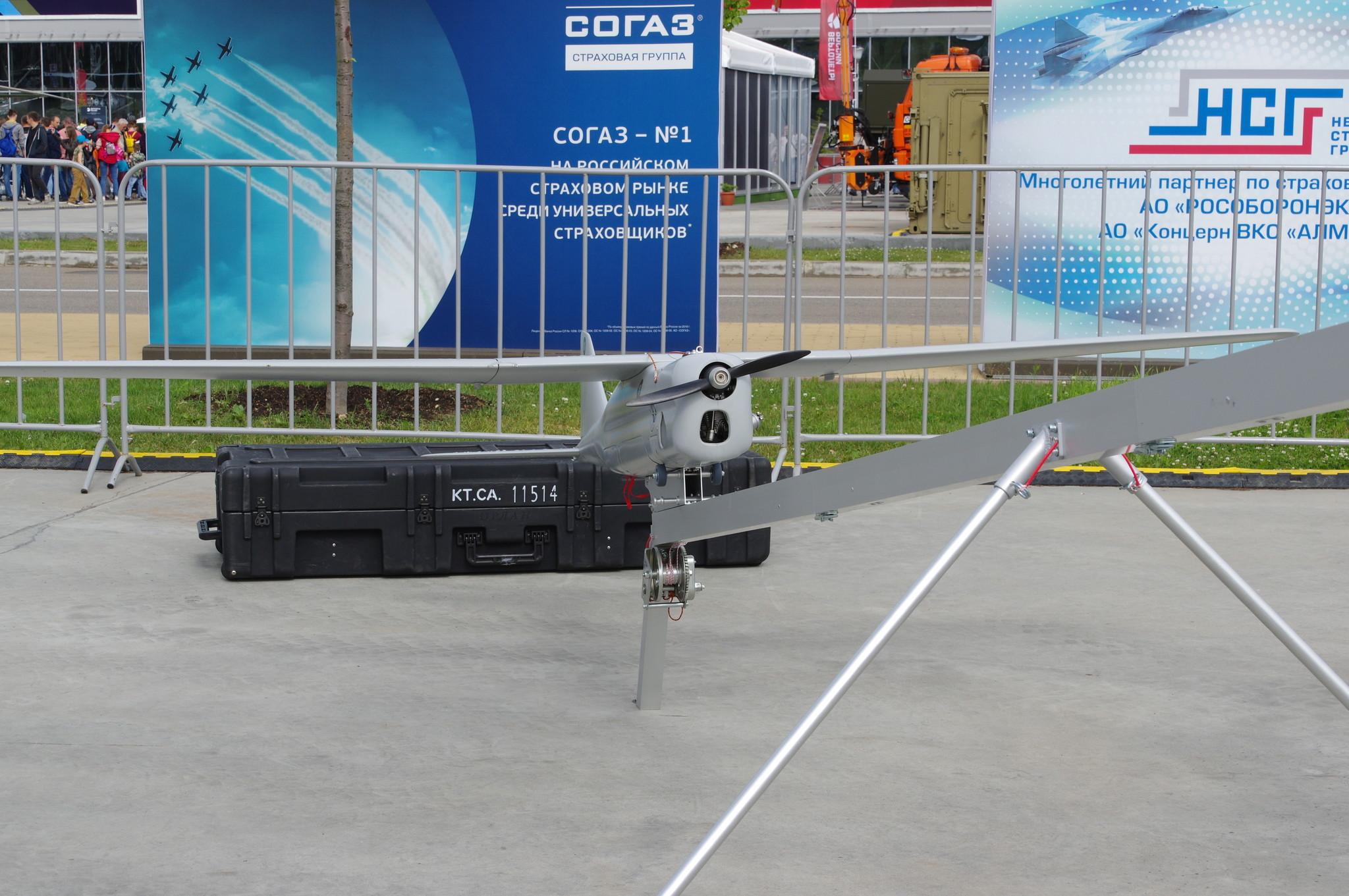 Многоцелевой беспилотный авиационный комплекс «Орлан-10»